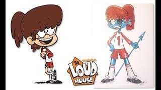 The Loud House Characters as Undertale Characters