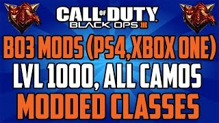 CoD Black Ops 3 MODS, (PS4,Xbox One) Recovery Service! Master Prestige,Lvl 1000 ,Modded Classes,Hack