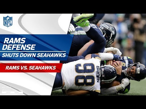 LA Defense Shuts Down Russell Wilson & Co. | Rams vs. Seahawks | Wk 15 Player Highlights