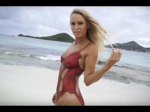 Caroline Wozniacki Gets Naked as She Poses For Sexy Sports