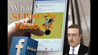 Post 3d models to facebook - How to facebook 3d model post - glb