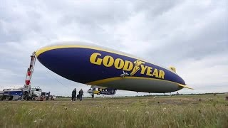 Take a look inside the Goodyear blimp