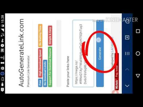 """Video Cara download file dari link Mega tanpa akun/apk """"MEGA"""""""