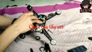 Minh Tiến TV || Sửa Flycam MJX Bugs 5w pro sau lần bay 1.5km