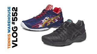new concept 6b251 26360 First look at Babolat Pure Drive   New Asics Shoes -- VLOG  552  Sneak Peek  ...