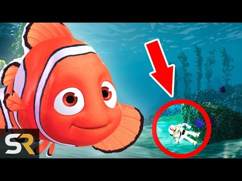 10 Amazing Hidden Details In Disney Films #2
