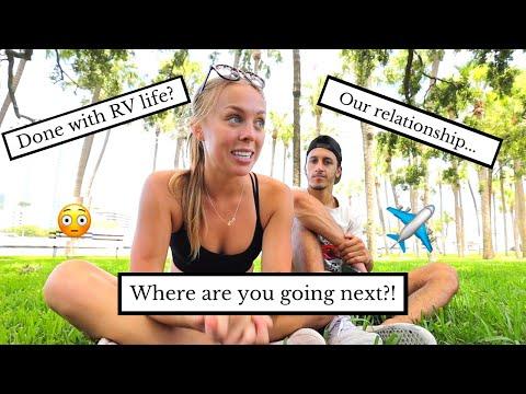 USA ROAD TRIP Q&A + Where I'm Going Next!