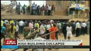 Death toll in Kisii building collapse rises to six - VIDEO