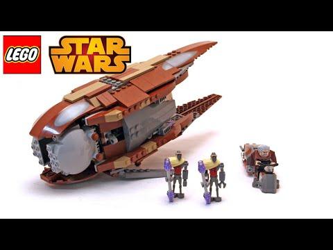 Vidéo LEGO Star Wars 7752 : Count Dooku's Solar Sailer