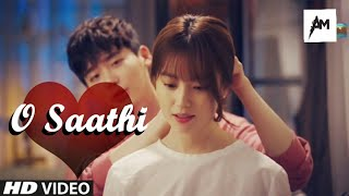 O Saathi | Arijit Singh | Full Video Song | Korean MIX