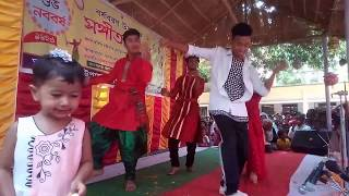 boishakhi song dance boy - TH-Clip
