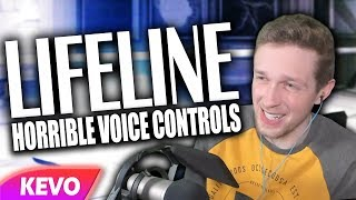 Lifeline, an old PS2 game with horrible voice controls