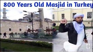 Mufti Tariq Masood New Vlog | 800 Years Old Masjid In Turkey - 16 Nov, 2018 | Islamic Group