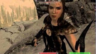 прохождение Skyrim без слов, сюжет :3 первая загадка