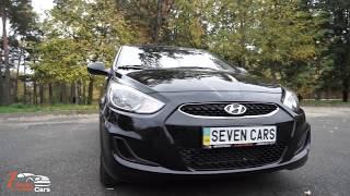 Hyundai Accent RB обзор авто - аренда в Киеве. SevenCars