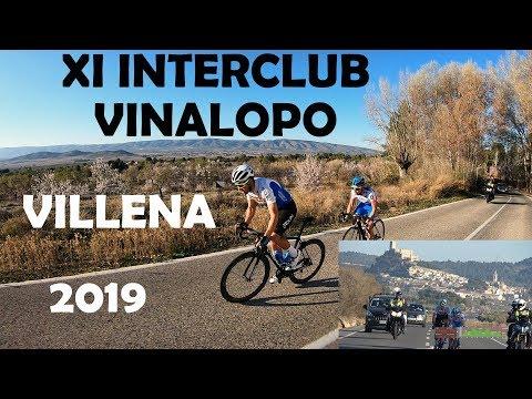 XI Interclub Vinalopo Villena 2-3-2019 Ciclismo 4K UHD