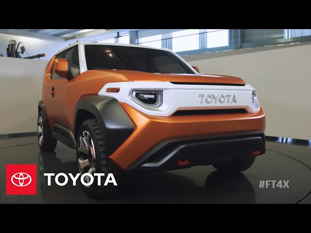Designing the Toyota FT-4X Concept    NYIAS 2017   Toyota