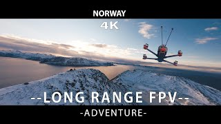 8km Long Range FPV in NORWAY - Alnes