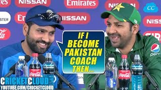 Rohit Sharma: If I become Pakistan Coach Then | INDvPAK Post Match Press Conference !!