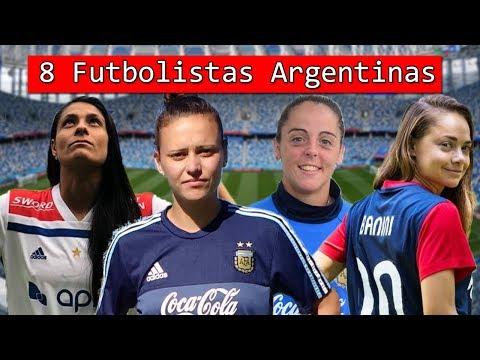Las 8 MEJORES Futbolistas del Fútbol FEMENINO de ARGENTINA 💁♀️
