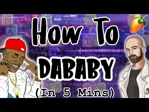 From Scratch: A DaBaby song in 5 minutes | FL Studio trap tutorial
