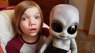 ALIEN BABY IN OUR HOUSE.