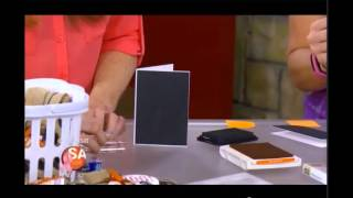 Hand Stamped Style Presents How To Make Simple Halloween Invites on SA Live 10-24-14