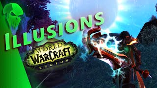 How to get ALL Illusion Transmogs | WoW Legion Patch 7.0.3 | QELRIC