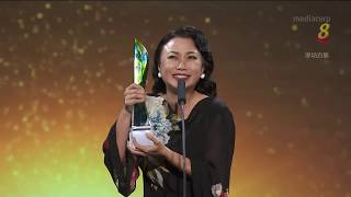 Star Awards 2019 - Xiang Yun receives the Evergreen Award