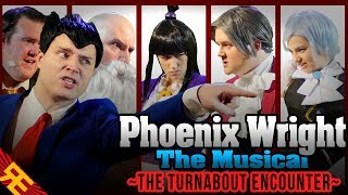 "Phoenix Wright the Musical SUPERCUT (""The Turnabout Encounter"")"