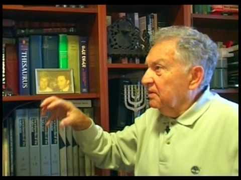 Бывший партизан, ученый-историк, доктор Ицхак Арад. Окончательное решение еврейского вопроса