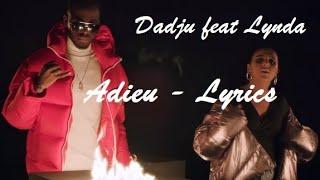 Dadju Feat Lynda    Adieu ♫ Paroles Lyrics Karaoke