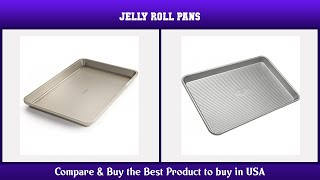 Top 10 Jelly Roll Pans to buy in USA 2021 | Price & Review