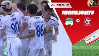 Highlights | HAGL - Hải Phòng FC | 3 điểm quý giá trong cuộc chiến trụ hạng | VPF Media