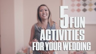 Fun ideas for your wedding games