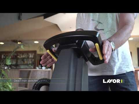 Lavor Dynamic 45 B akülü zemin temizlik makinası