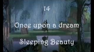 My Top 30 Disney Songs (English Version)