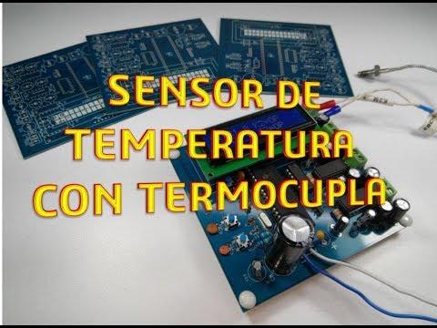 como medir temperatura con  termocupla J y K con AD594- AD595 y PIC | PCB de empresa PCBWAY