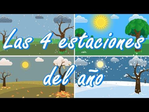 Las 4 estaciones del año ¿Cuándo empiezan y cuando terminan?