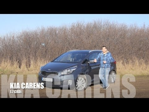 (ENG) KIA Carens 1.7 CRDi 136 HP - Test Drive and Review