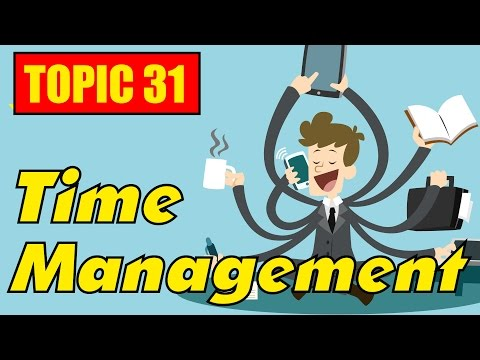 ✪ IELTS Speaking task 2, 3 Test Band 9: Topic 31 - Busy Day & Time Management