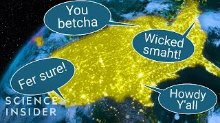This Map Shows Where American Accents Come From