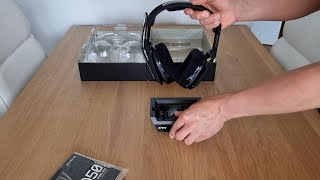 ASTRO Gaming A50, Wireless Gaming-Headset mit Ladestation - Unboxing & Vorstellung