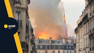 """Pożar Katedry Notre Dame - """"Oni Autentycznie Płakali""""   #OnetRANO"""