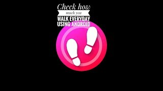 Pedometer app for android || latest upload 2017
