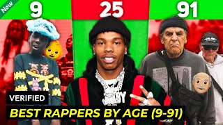 BEST RAPPERS BY AGE (9 - 91 Years Old)