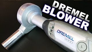 Make A Powerful Mini Blower Attachment for Dremel Tools