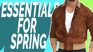 Top 10 Men's Essentials For Spring | Guys Style Must-Haves 2020