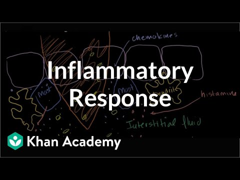 Inflammatory response | Human anatomy and physiology | Health & Medicine | Khan Academy
