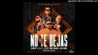 Miky Woodz, Alex Rose & Cosculluela   No Te Dejas (Audio Oficial)